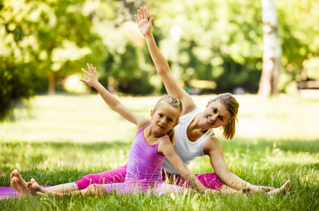Family Yoga Routines and Ideas